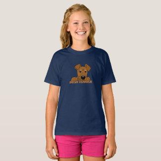 Irlandais terrier tête Cute T-shirt