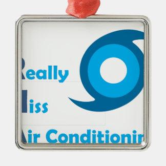 IRMA = je manque vraiment la climatisation ! Ornement Carré Argenté