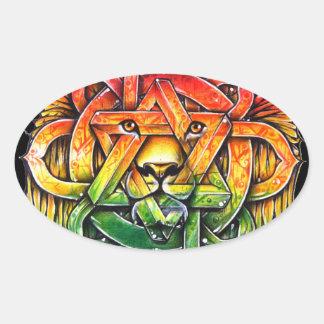 Iron Lion Zion - M1 Sticker Ovale