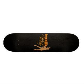 Irrésistiblement Witchy Plateaux De Skateboards Customisés