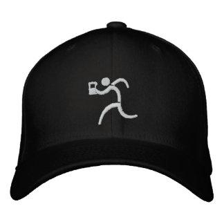 IRunToDrink a brodé la casquette de baseball noire