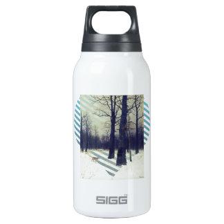 Isaac Levitan- dans la forêt à l'hiver