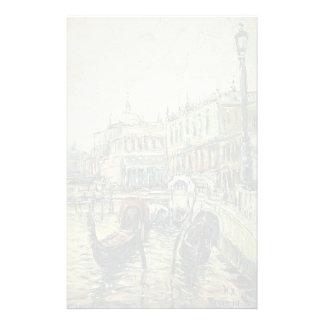 Isaac Levitan- Venise Papier À Lettre Customisé