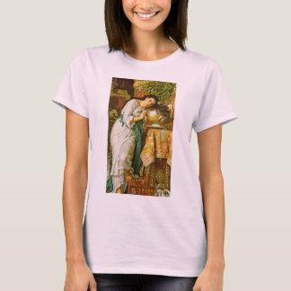 Isabella et le pot du T-shirt de Basil