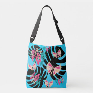Isla Tropicana (imprime porcelet turquoise-coral) Sac
