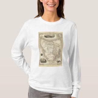 Island de Van Diemen's ou la Tasmanie T-shirt