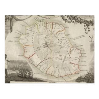 Isle De La Reunion Carte Postale
