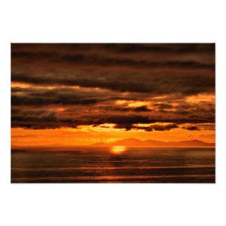 ISLE OF SKYE SUNSET IMPRESSION PHOTO