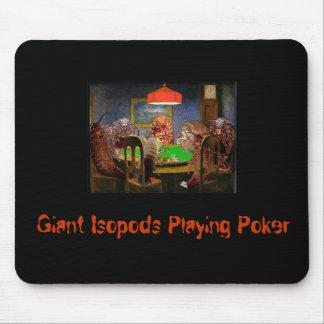 Isopods.Playing.Poker, Isopods géant jouant au pok Tapis De Souris