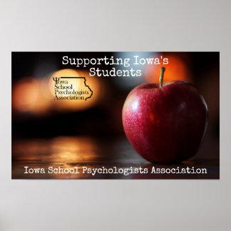 ISPA soutenant l'affiche d'étudiants de l'Iowa Poster