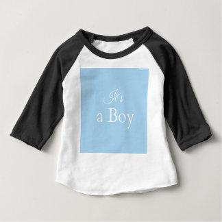 it´s un garçon t-shirt pour bébé