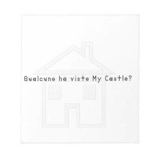 Italien-Château Blocs Notes