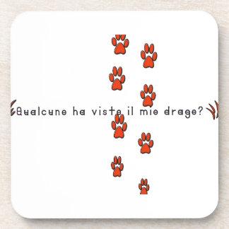 Italien-Dragon Dessous-de-verre