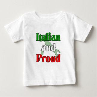 Italien et fier t-shirt pour bébé