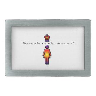 Italien-Maman Boucle De Ceinture Rectangulaire