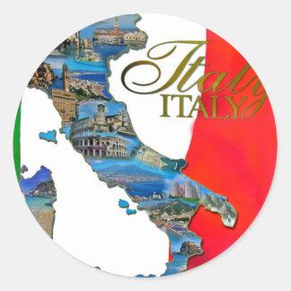 Italienne la botte autocollants