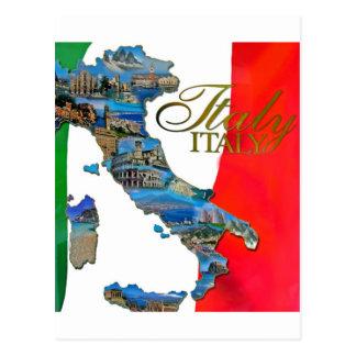 Italienne la botte carte postale