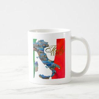 "Italienne la ""botte "" mug blanc"