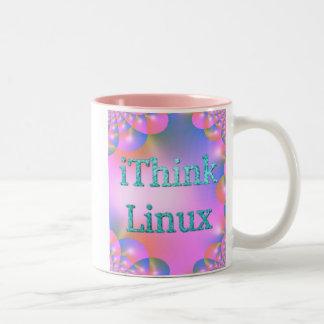 iThink Linux conceptions de doyen de Che Tasse À Café