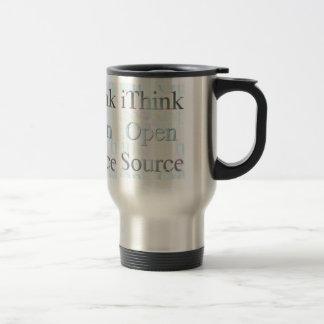 iThink Open Source, conceptions de doyen de Che Mug De Voyage En Acier Inoxydable