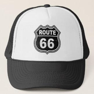 Itinéraire 66 affligé casquette