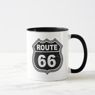 Itinéraire 66 affligé mug