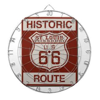 Itinéraire 66 de St Louis Jeux De Fléchettes