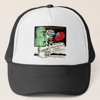 Itinéraire 66 d'UFO d'alien de style des années Casquette