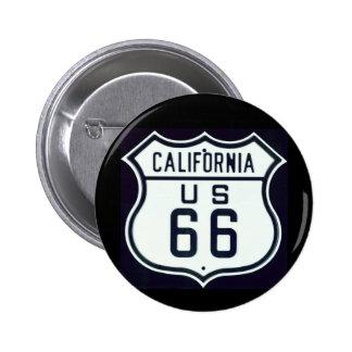 Itinéraire 66 la Californie Pin's