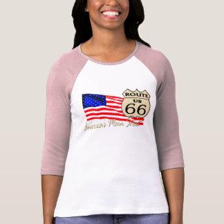 Itinéraire 66 - La rue principale de l'Amérique T-shirt