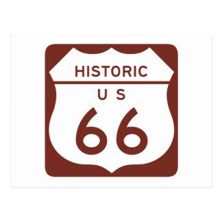 Itinéraire 66 - Les USA historiques Carte Postale