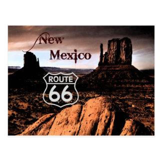 Itinéraire 66 Nouveau Mexique Carte Postale