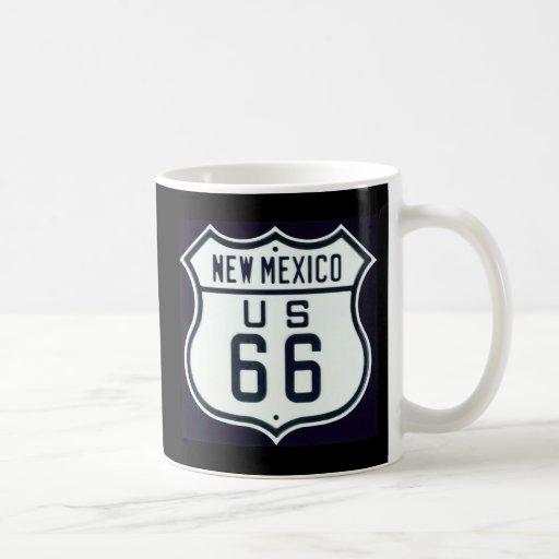 Itinéraire 66 Nouveau Mexique Mugs À Café