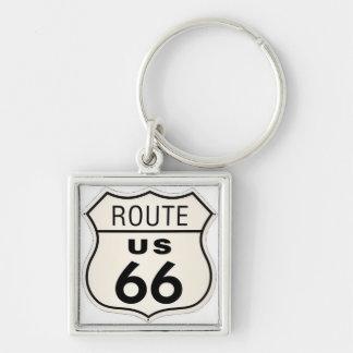 Itinéraire 66 porte-clés