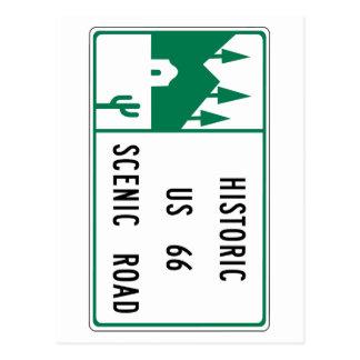 Itinéraire 66 - Route pittoresque des USA 66 Cartes Postales