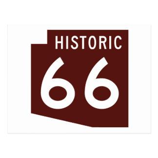 Itinéraire historique 66 - carte d'état de