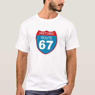 Itinéraire historique 67 t-shirt