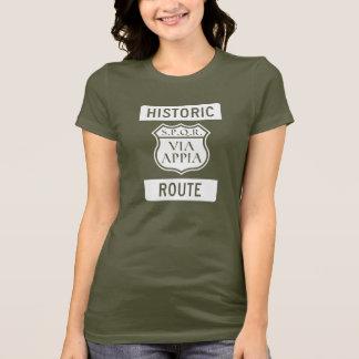 Itinéraire historique : Le T-shirt des femmes