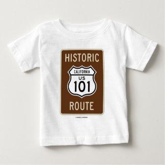 Itinéraire historique USA 101 la Californie T-shirt Pour Bébé