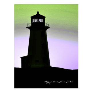 Itinéraire la Nouvelle-Écosse de phare de la Cartes Postales