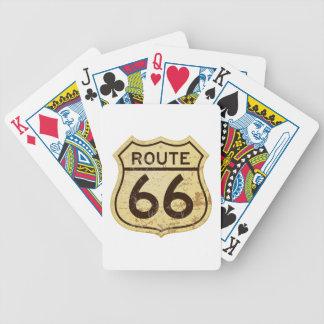 Itinéraire rouillé 66 jeux de cartes