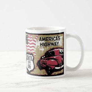 Itinéraire vintage 66 mug