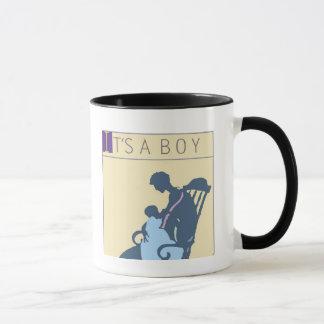 <It's a Boy> par Steve Collier Mug