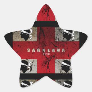 IV - CST de SARDEGNA Sticker Étoile