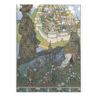 Ivan Bilibin : Illustration d'histoire Carte Postale