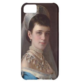 Ivan Kramskoy Portrait d impératrice MariaFiodor Coque Pour iPhone 5C