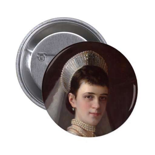 Ivan Kramskoy : Portrait d'impératrice MariaFiodor Badges