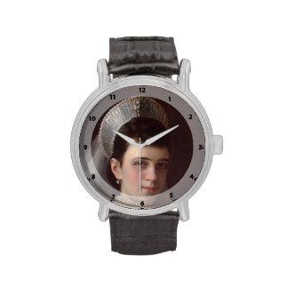 Ivan Kramskoy : Portrait d'impératrice MariaFiodor Montres Bracelet