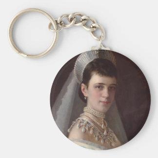 Ivan Kramskoy : Portrait d'impératrice MariaFiodor Porte-clés