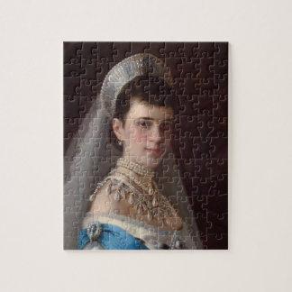 Ivan Kramskoy : Portrait d'impératrice MariaFiodor Puzzle Avec Photo